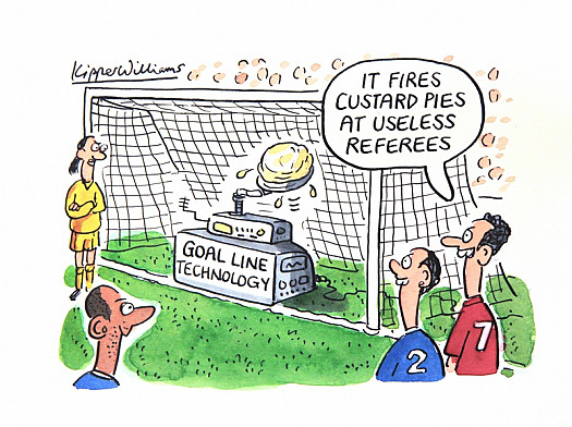 It Fires Custard Pies At Useless Referees