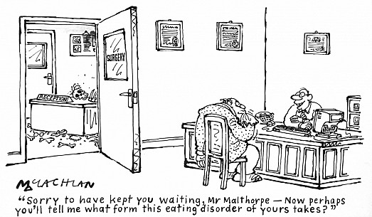 Sorry to Have Kept You Waiting, Mr Malthorpe – 