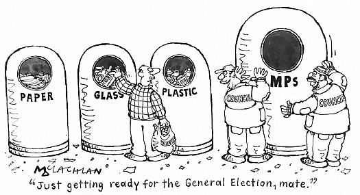 """""""just Getting Ready For the General Election, Mate."""""""