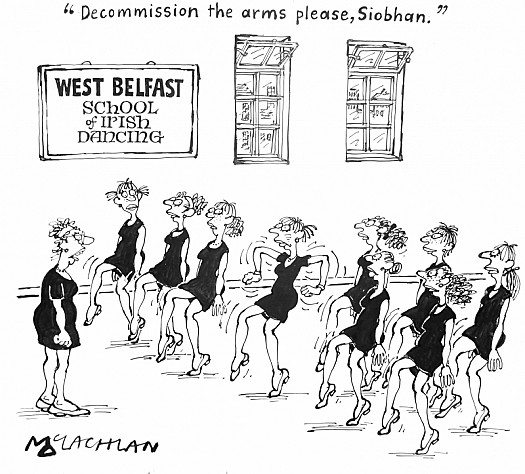 Decommission the Arms Please, Siobhan.