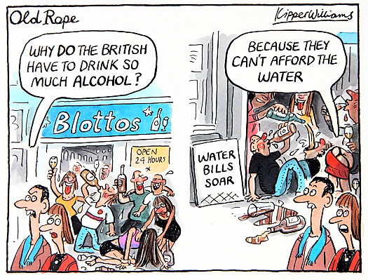 Why Do the British Have to Drink so Much Alcohol