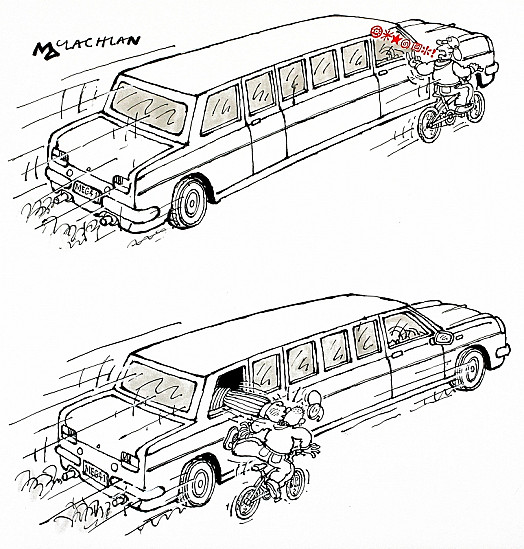 Limousine: Abuse and Retribution