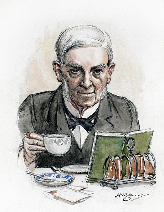 Holmes: the Professor At the Breakfast Table