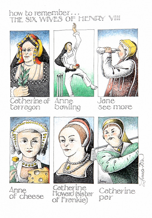 How to Remember ... the Six Wives of Henry Viii
