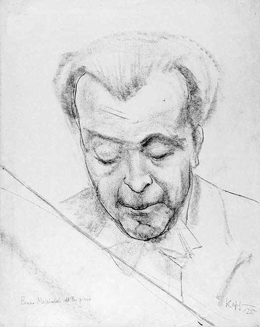 Benno Moiseiwitsch At the Piano