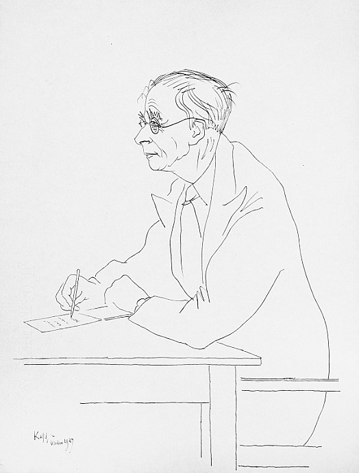 Sir Julian Huxley At Work
