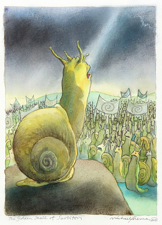 A Long Time Ago, the Fiercest and Most Powerful Snail In All the World Lived In What Is Now Surbiton