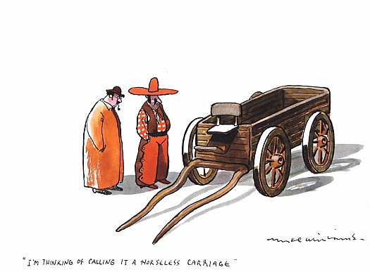 """""""I'm Thinking of Calling It a Horseless Carriage."""""""