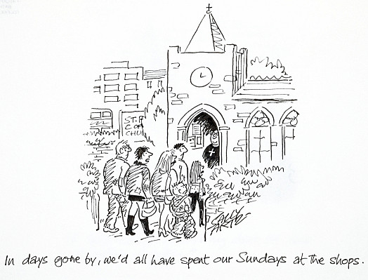 In Days Gone By, We'd All Have Spent Our Sundays At the Shops