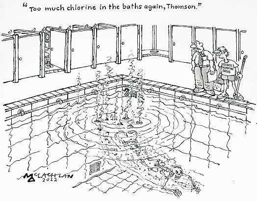 Too Much Chlorine In the Baths Again, Thomson