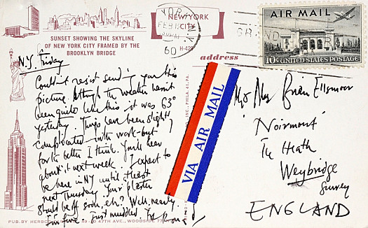 Letter to Jean Ellsmoor
