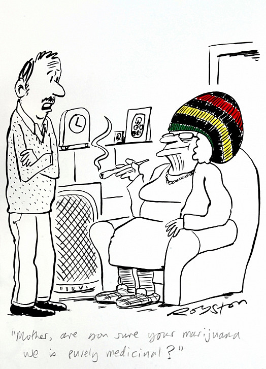 Mother, Are You Sure Your Marijuana Use Is Purely Medicinal?