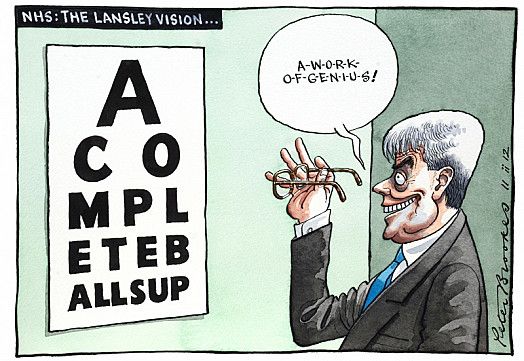 Nhs: the Lansley Vision