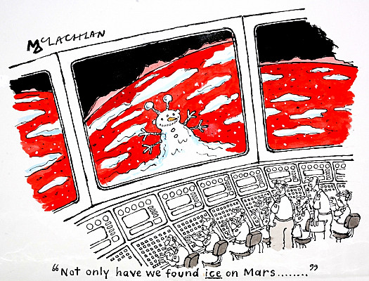 Not only Have We Found Ice On Mars...