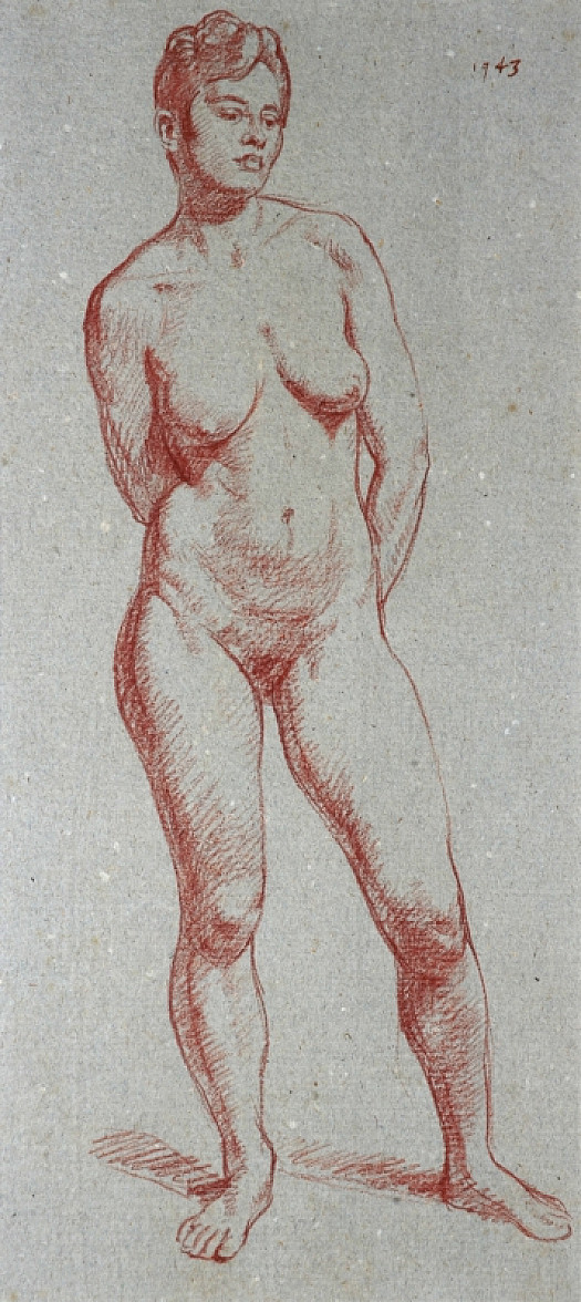 Life Drawing: Standing Nude