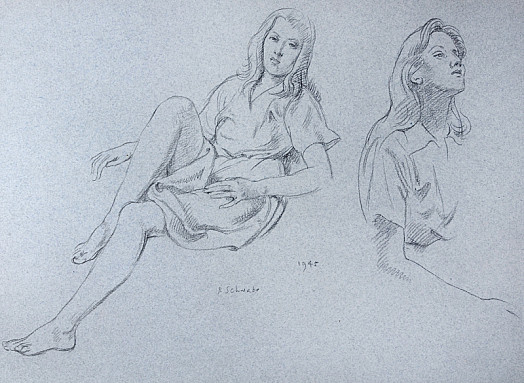 Studies of Girl
