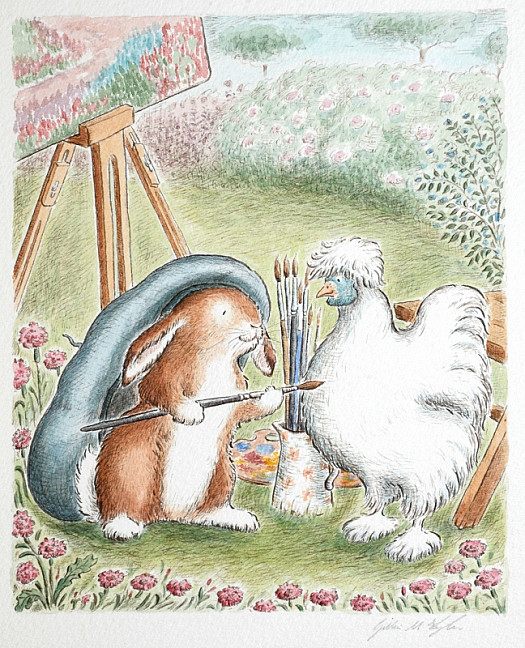 Pipkin Sighed Deeply. Other Rabbits only Thought About Food and Water, but Now That He Had the Old Man's Hat On, He Too Would Be Different