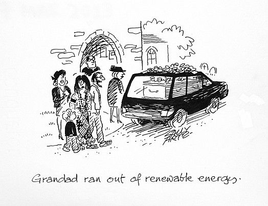 Grandad Ran Out of Renewable Energy