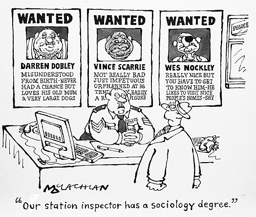 Our Station Inspector Has a Sociology Degree