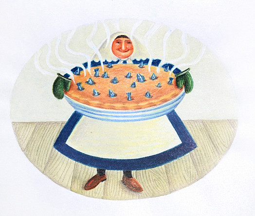 Mrs Penwether and Her Stargazy Pie