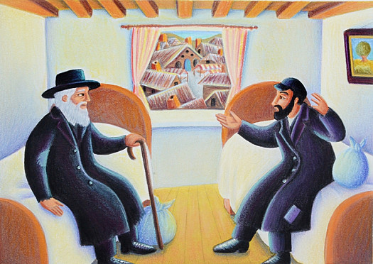 And Now That Rabbi Joshua Had Started to Question and Complain, He Found He Could Not Stop