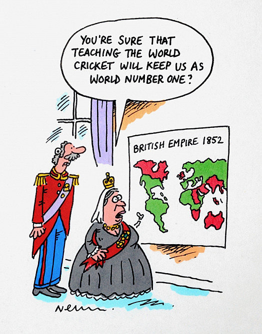 You're Sure That Teaching the World Cricket Will Keep Us as World Number One?