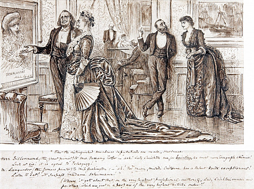 How the Distinguished Amateur's Reputations Are Made, Sometimes.