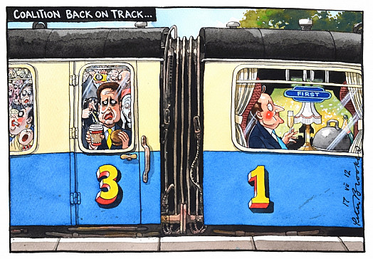 Coalition Back On Track...