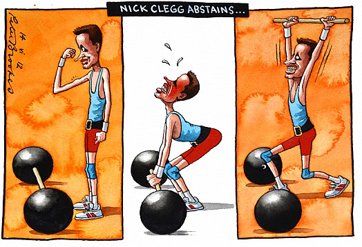 Nick Clegg Abstains...