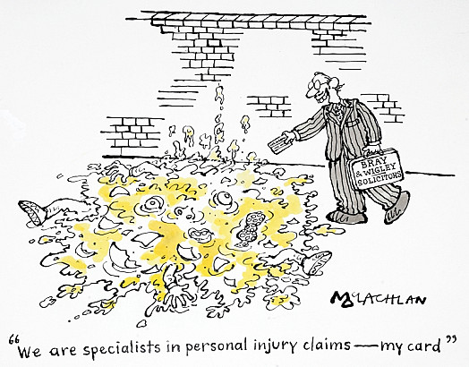 We Are Specialists In Personal Injury Claims - My Card