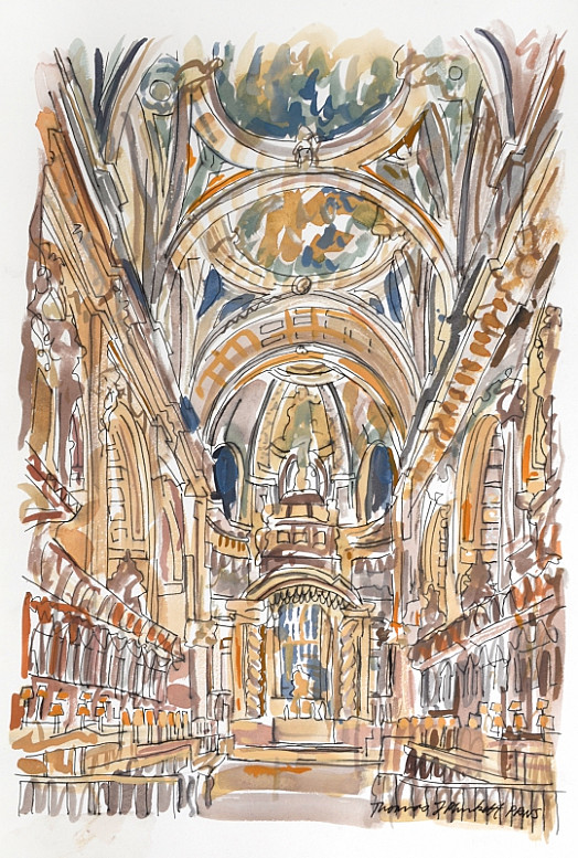 The Quire, St Paul's Cathedral