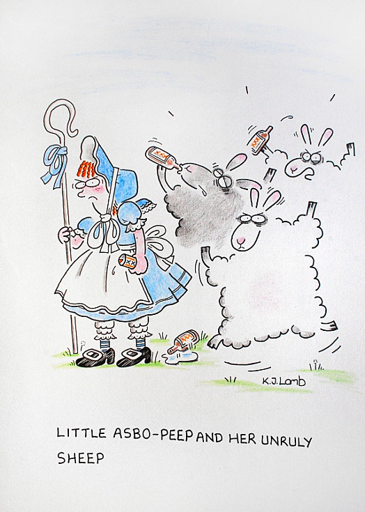 Little Asbo-Peep and Her Unruly Sheep