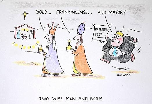 Two Wise Men and Boris