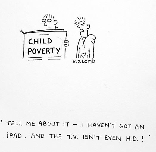 Tell Me About It - I Haven't Got an Ipad, and the Tv Isn't Even Hd!