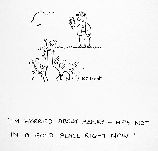 I'm Worried About Henry - He's Not In a Good Place Right Now