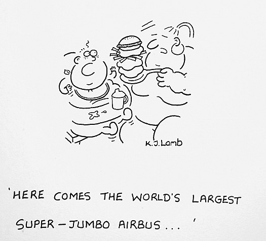 Here Comes the World's Largest Super-Jumbo Airbus...