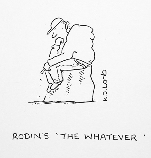 Rodin's 'the Whatever'