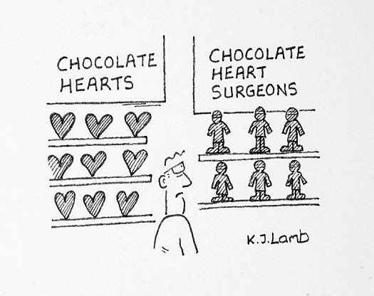 Chocolate Heart Surgeons