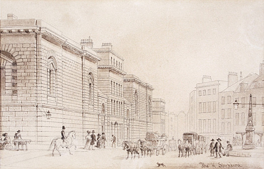 Newgate Prison, Old Bailey