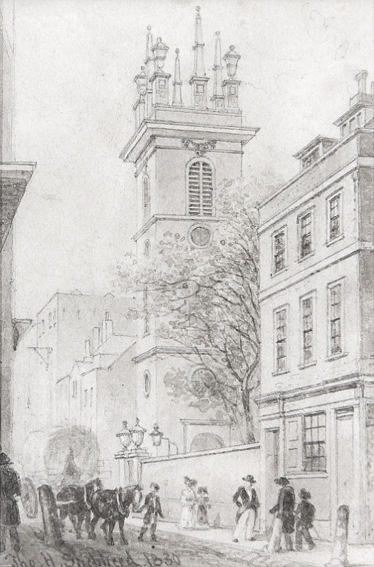 St Mary Somerset, Upper Thames Street