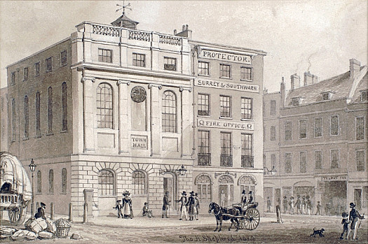 Town Hall, Borough, Southwark