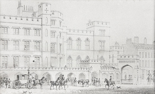 The King's Entrance to the House of Lordsfrom Poet's Corner