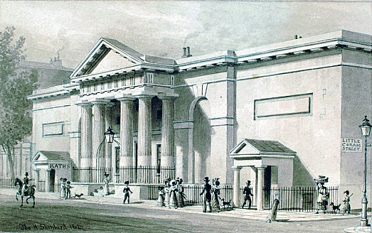The Russell Institution, Great Coram Street