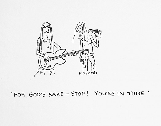 For God's Sake - Stop! You're In Tune