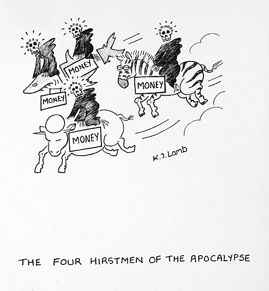 The Four Hirstmen of the Apocalypse