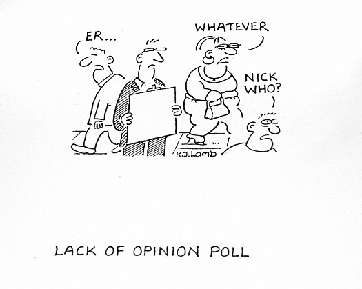 Lack of Opinion Poll