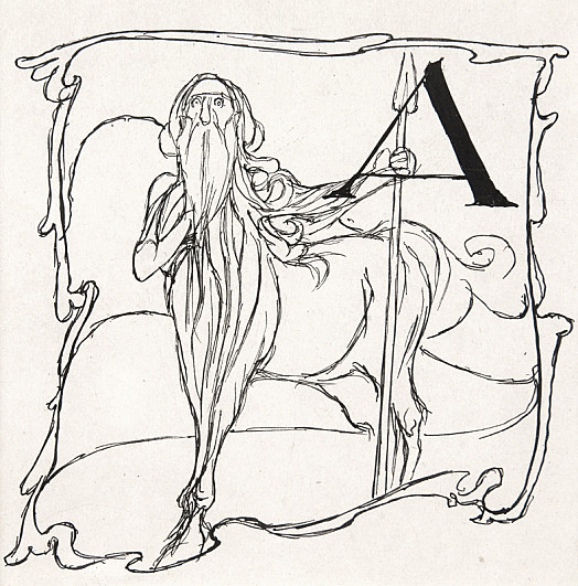 Initial Letter a - How Jason Lost His Sandal In Anauros