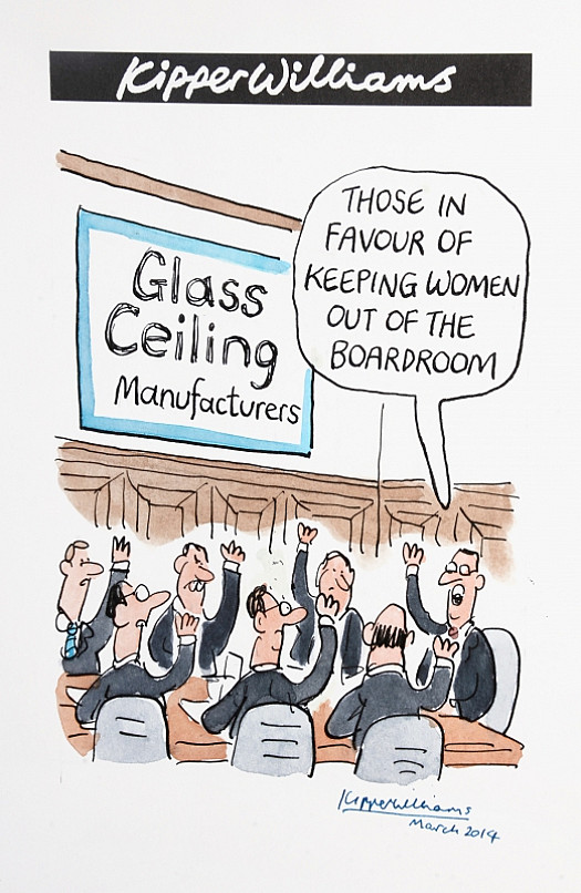Those In Favour of Keeping Women Out of the Boardroom