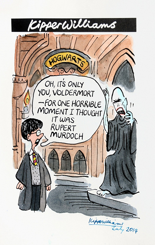 Oh, It's only You, Voldemort - For One Horrible Moment I Thought It WasRupert Murdoch