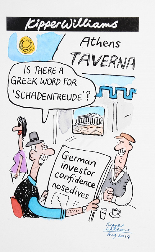 Is There a Greek Word For 'Schadenfreude'?